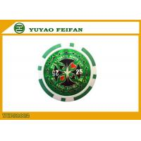 Quality Value 25 Bicycle Poker Chips Green Design Your Own Poker Chips wholesale
