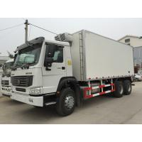 Cheap Refrigerated Box Truck With Euro III , Refrigerated Delivery Truck 6X4 for sale