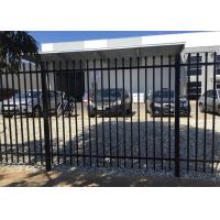 Buy cheap Australia Standard Four Welds Crimped Spear Top Fence with ISO 9001Certification from wholesalers