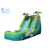 Cheap Inflatable Jumping Castle Water Slide Games Land Water Park Slide Bounce House for sale
