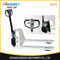 Cheap Extraordinary factory new type semi electric pallet truck 2 ton with cheap price for sale