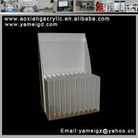 Cheap hand made cosmetic display brush kiosk case individual for sale