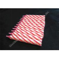 Quality Dia 0.77cm Spiral Stick Birthday Candles 12 Pcs 25 Grams Chunky Pink Likable Wax wholesale