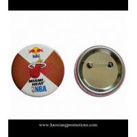 Cheap OEM different size Tin badge Button Badge round shape square shape pin badge for sale