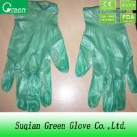 Buy cheap Small powdered Disposable PVC Gloves , vinyl examination gloves from Wholesalers