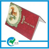 Cheap Holiday Greeting Card Stock Paper Printing Services for Sweet Blessing to Family for sale