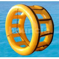 Buy cheap 0.9mm (32oz) PVC Durable Inflatable Water Roller WR06 for Seashore from Wholesalers