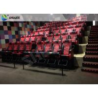 Cheap Popular 4D Movie Theater Motion Chair 3DOF System Immersive Special Effects for sale