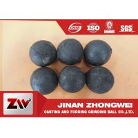 Cheap No Breakage Grinding Steel Balls for mining and Cement / steel mill media for sale