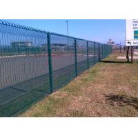 Hot Dipped Galvanized After Fabricated 358 Security Fence 72.6 * 12.7mm