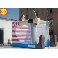 Cheap Lovely Commercial Inflatable Bouncers Pirate With Knife For Outdoor Castle for sale