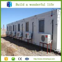 China 20ft 40ft Expandable Combined Flat Pack Modular shipping Container House on sale