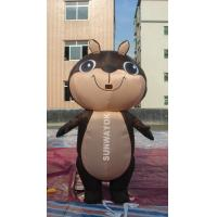 Cheap Brown Squirrel Inflatable Advertising Costumes For business Show , EN71 for sale