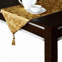 China Table Runner, Made of Various Materials on sale