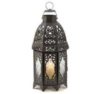 China Lattice Moroccan Style Candle Lanterns Holders on sale