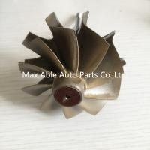 Cheap T04E 65.8/74.17mm turbine shaft&wheel /turbo wheel /turbo shaft for turbocharger for sale