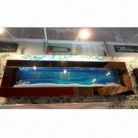 Cheap Copper Stainless Steel Design Wall Aquarium for sale