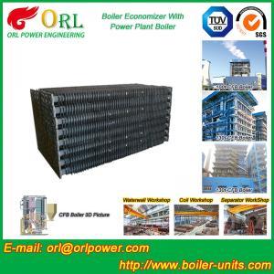 Buy cheap Power Plant CFB Boiler Economizer Tubes / Economizer Heat Exchanger from wholesalers