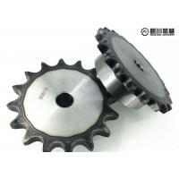 Cheap Forged Stainless Steel Conveyor Chain Sprocket , 60 Chain Sprocket 45C Material for sale