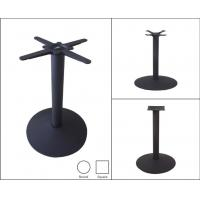 Cheap Restaurant Furniture Commercial Metal Table Legs Pedestal Style 28''/ 41'' Height for sale