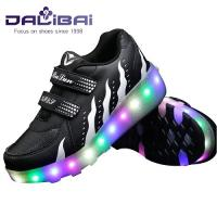 Cheap Light Up 2 Wheels Skate Roller Shoes For Kids and Adults wholesale