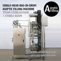 Cheap 200 Litre Bag in Box Aseptic Filler 220 kg Bag in Drum Aseptic Filling Machine for sale