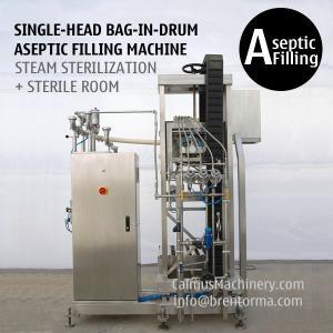 Cheap Single-head 220 Litre Bag Aseptic Filler 220 kg Bag in Drum Aseptic Filling Machine for sale