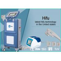 Cheap Vertical Portable HIFU Machine High Intensity Focused Ultrasound For Face Lifting for sale