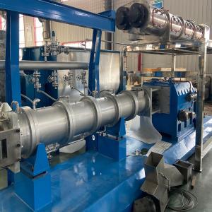 China Big capacity pet food making machine/floating fish feed production line on sale