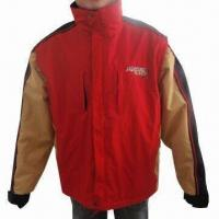Cheap Men's Ski Jacket with 190T Polyester Lining and SBS Zippers for sale