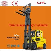 Cheap 4.5 Ton LPG Gasoline Forklift Single / Dual Fuel With Certified GM4.3L Engine for sale