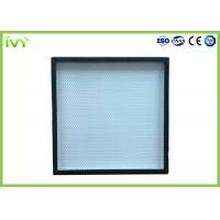 Cheap H13 H14 High Efficiency Hepa Filter Sturdy Construction For HVAC System for sale