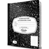 Cheap Mead Black Marble Composition Notebook, Wide Ruled, 100 Sheets, 9.75 x 7.5 Inch Sheet Size, 5 Pack (72368) for sale