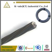 Cheap Galvanized steel strand Galvanized steel strand from China manufacture for sale