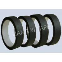 Cheap Heat Resistance Automotive Masking Tape , Black Electrical Masking Tape for sale