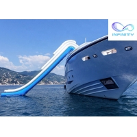 Buy cheap School Event Inflatable Ocean Pool Slip And Slide Infinity Products from wholesalers