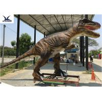 Jurassic Park Life Size Realistic Dinosaur Statues Animatronic Rubber Models Display