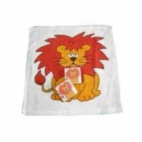 Cheap Square Shape Compressed Towel with Lion Printing (YT-660) for sale
