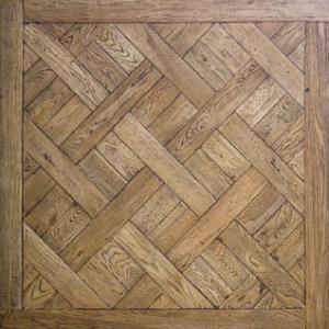 Cheap White washed Oak Versailles wooden Parquet flooring for sale