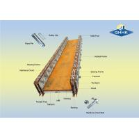 Cheap 200 Type Prefabricated Steel Bailey Bridge With Galvanized Or Painted Surface for sale