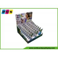 Flat Packing Cardboard Counter Display Boxes For Mini Phone Fans CDU061