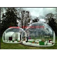 Cheap custom dome clear tent with extra room, bubble tree tent, transparent tent for exhibition for sale