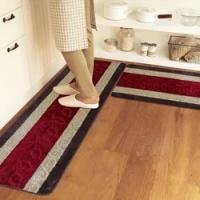 Cheap 5mm Thick Pvc Backing Polyester area rugs For Kitchen / Living Room for sale