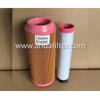 China High Quality Air Filter For MANN C14200 on sale