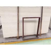 Cheap Polished Beige Natural Stone Tiles Perlino Bianco Marble Slabs Wall Panel for sale