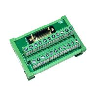 Cheap GINRI JR-20TSC 20 Pin SCSI Signals Breakout Board Module Female DIN Rail for sale