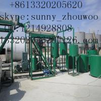 Cheap ZSA Black Oil Extraction Equipment,Oil Distillation Equipment  to base oil Manufacturer for sale