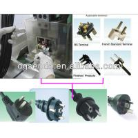 4.0mm Brazil Plug Semi Automatic Crimping Machine 3 Hollow Pin / Solid Pin