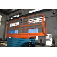 500Kg Loading Capacity Hydraulic Mobile Scissor Lift with Extension length 1000mm,6 Meters Height
