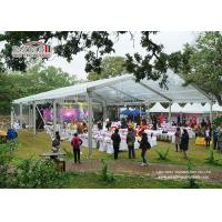 Buy cheap Custom Big Outdoor Event Tents White Party Tents With Tables Chairs Wedding Tent from wholesalers